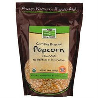 NOW Foods - Certified Organic Popcorn - 24 oz.