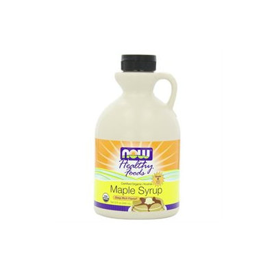 NOW Foods Organic Maple Syrup Grade B