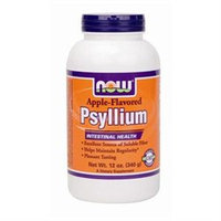 NOW Foods - Apple Psyllium Fiber - 12 oz.