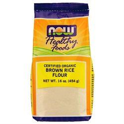 NOW Foods - Brown Rice Flour Organic - 16 oz.