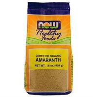 NOW Foods Certified Organic Amaranth Whole Grain - 16 oz