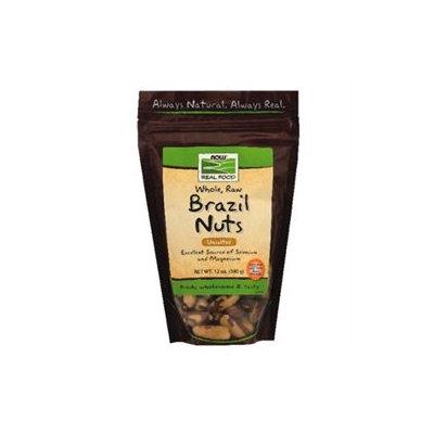 NOW Foods - Brazil Nuts Raw - 12 oz.