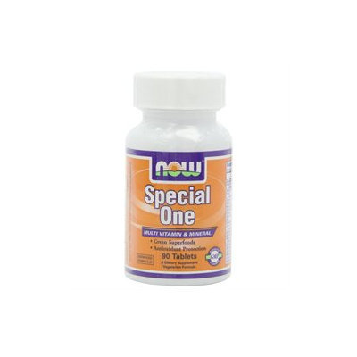 NOW Foods - Special One Multiple Vitamin with Green Superfoods - 90 Tablets