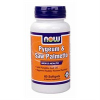 Pygeum and Saw Palmetto Extract by Now Foods - 60 Softgels