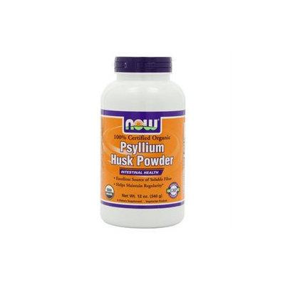NOW Foods Psyllium Husk Powder, 12 oz