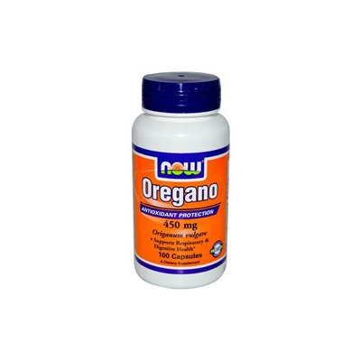 NOW Foods - Oregano 450 mg. - 100 Capsules