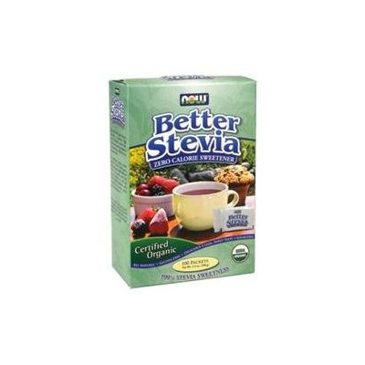 Now Foods, Better Stevia Zero Calorie Sweetener 75 Packets