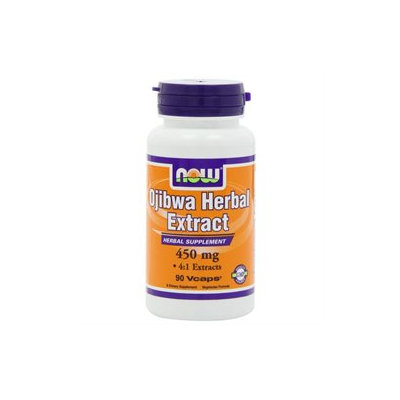 NOW Foods - Ojibwa Herbal Extract 450 mg. - 90 Vegetarian Capsules formerly Esiak
