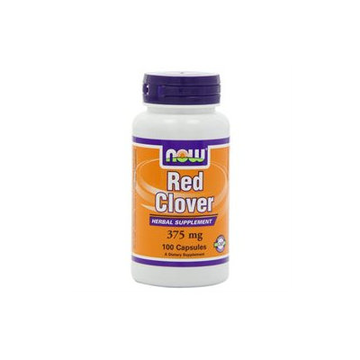 NOW Foods - Red Clover 425 mg. - 100 Capsules