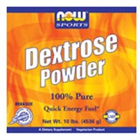 NOW Foods - Dextrose Powder - 10 lbs.