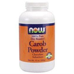 NOW Foods - Carob Powder Roasted - 12 oz.