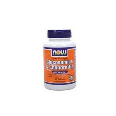 NOW Foods Glucosamine & Chondroitin Sulfate Extra Strength, Tablets, 60 ea