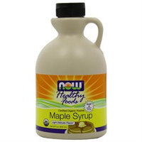 NOW Foods Organic Maple Syrup- Grade A Med. Amber