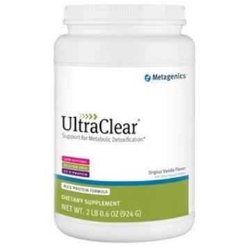 Metagenics - UltraClear original vanilla flavor, RICE Protein formula 32.6 oz