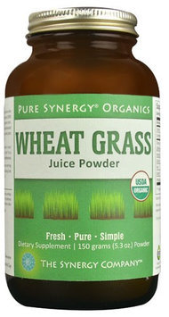 The Synergy Company Pure Synergy Organics Wheat Grass Juice Powder 5.3 oz