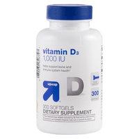 up & up up&up Vitamin D3 1000 I.U. Softgels - 300 Count