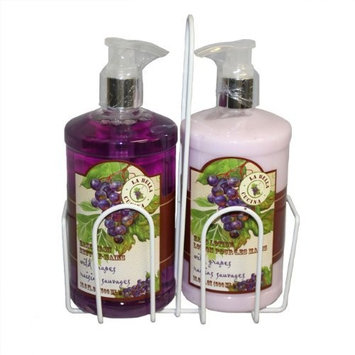 La Bella Cucina Wild Grape Hand Wash And Hand Lotion Set