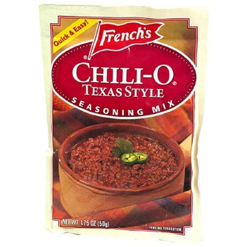 Frenchs French's Chili-O Texas Style Seasoning Mix , 1.75-Ounce Packets (Pack of 18)