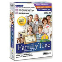 Individual Software Inc. Family Tree Heritage Deluxe 7 PC CD