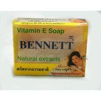 Body Soap Bar BENNETT Brand Vitamin E Soap Natural Extracts (net wt 4.6 OZ.or 130g.)