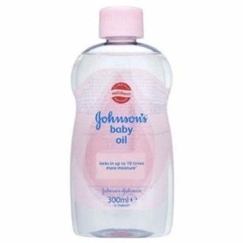 Johnson Baby Oil 5x300ml Bottles