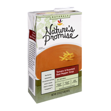 Nature's Promise Naturals Tomato & Roasted Red Pepper Soup