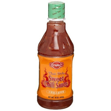 Dynasty Thai Style Sweet Chili Sauce, 16-Ounce Bottles (Pack of 6)