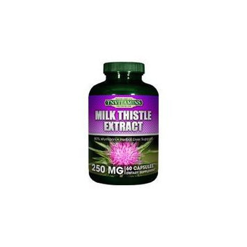 Milk Thistle Extract - 250 Mg - Standardized Extract - 60 Capsules