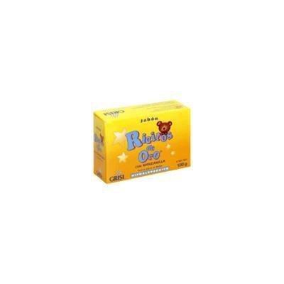 Grisi Ricitos De Oro Soap Sensible Skin 3.5 OZ (Pack of 6)