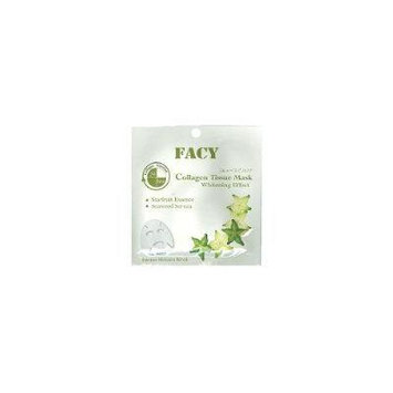 Facy Collagen Tissue Mask Whitening Effect 1 Pcs. 21 ml. (Pack 2)