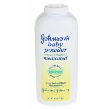 Johnson's® Baby Powder Medicated