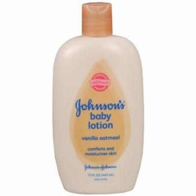 Johnson's Baby Lotion, Vanilla 15 fl oz (425 g)