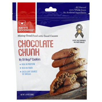 Katy's Goodness My OH Mega Cookies Chocolate Chunk 4.8 oz