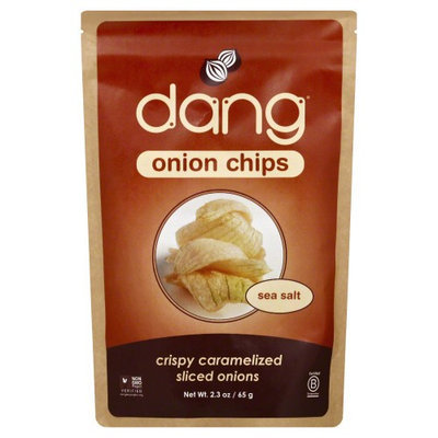 Dang Onion Chips Sea Salt 2.3 oz - Vegan
