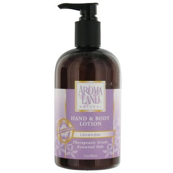 Aroma Land Natural Lavender Hand & Body Lotion