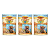 Zukes Zuke's Skinny Bakes 10's Dog Biscuit, 12 oz (3 Pack) (Pumpkin and Sweet Potato)
