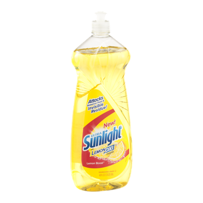 Sunlight Ultra with Lemon Oxi Complex Dishwashing Liquid