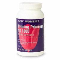 GNC Women's Evening Primrose Oil 1300, Softgel Caps 90