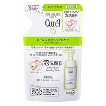 Curel sebum trouble 130ml refill care foam cleanser
