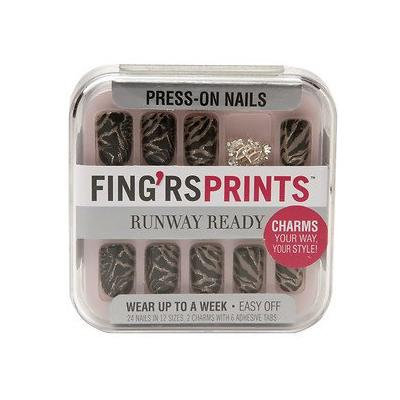 Fing'rs Prints Press-on Nails, Runway Ready - Show Stopper