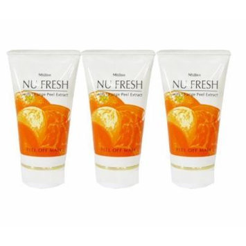 Mistine Nu Fresh with Orange Peel Off Extract Mask 50 G. X 3 Piece