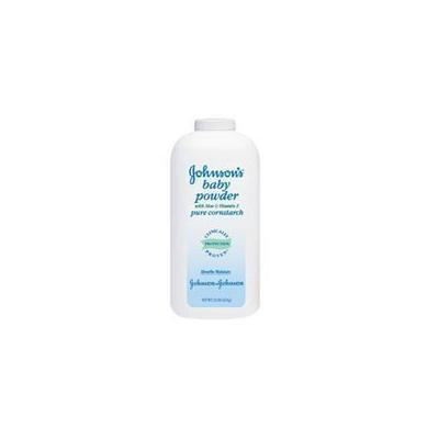 Johnsons Baby Powder with Aloe and Vitamin E Pure Cornstarch, 3058 - 15 Oz