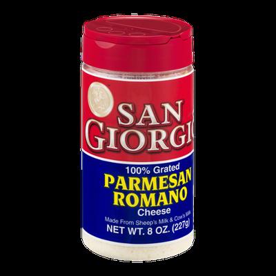 San Giorgio 100% Grated Parmesan Romano Cheese