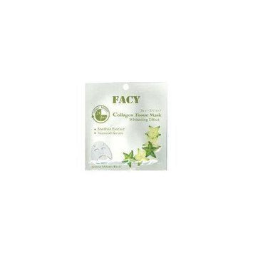 Facy Collagen Tissue Facial Mask Face Whitening Effect Intense Melanin Block