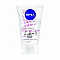 NIVEA Facial Foam Extra White Make Up Clear 3 in 1 Mud Foam