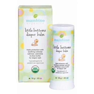 Mambino Organics - Little Bottoms Diaper Balm - 0.63 oz. (18 g)