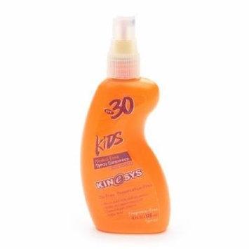 KINeSYS Sunscreen Spray, Kids, SPF 30, Fragrance-Free 4 fl oz (120 ml)