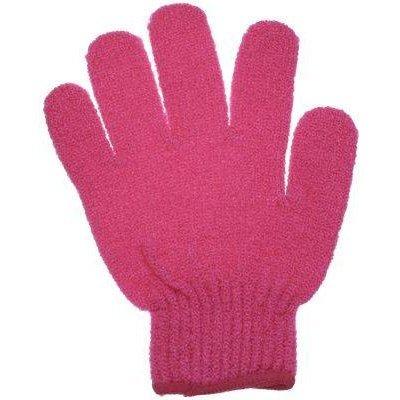 Bath Accessories Bathing Gloves Hot Pink