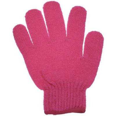 Bath Accessories Bathing Gloves Hot Pink