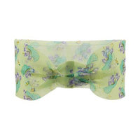 Spa Sister Georgette Hairband Clogs of Flowers